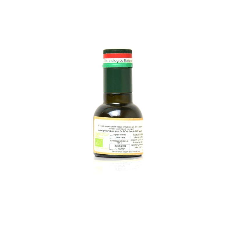 Olio extra vergine di oliva bio l'oro di Lucrezia Ravece_0_10_retro